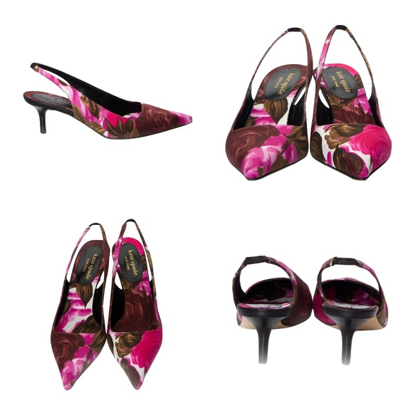 bcdc277a8049 kate spade Shoes | New Spring 2005 Collection Floral Heels | Poshmark